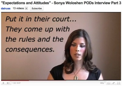"""Expectations and Attitude - POD's Interview Part 3 ~ by Sony Woloshen ~ CC = BY::NC::SA"""