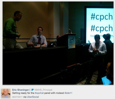 """""""cpchat at ISTE"""""""