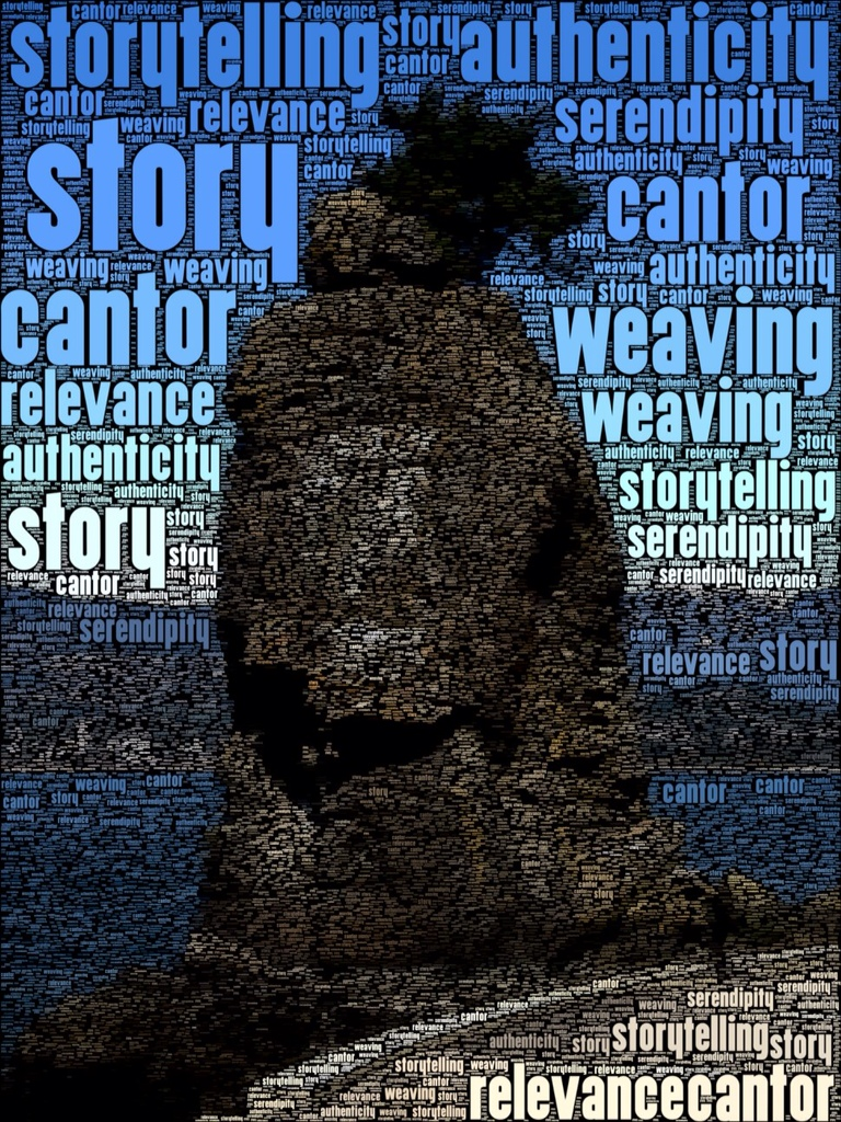 """Siwash Rock - Storytelling - by David Truss"""