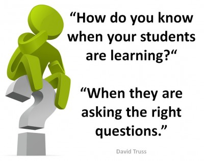 Students Learing - Right Questions - David Truss